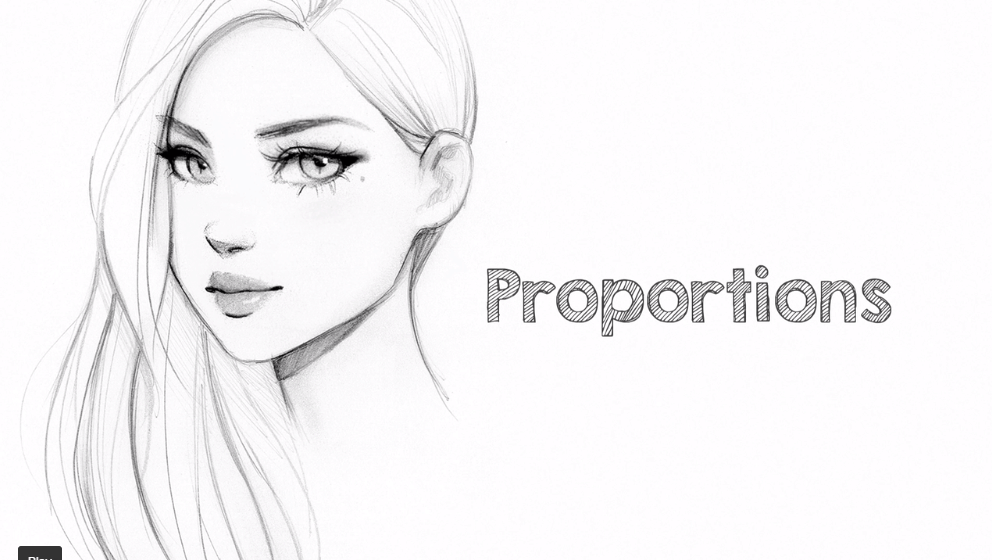 Best skillshare classes - Design a Female Character: Sketching Portraits with Pencils