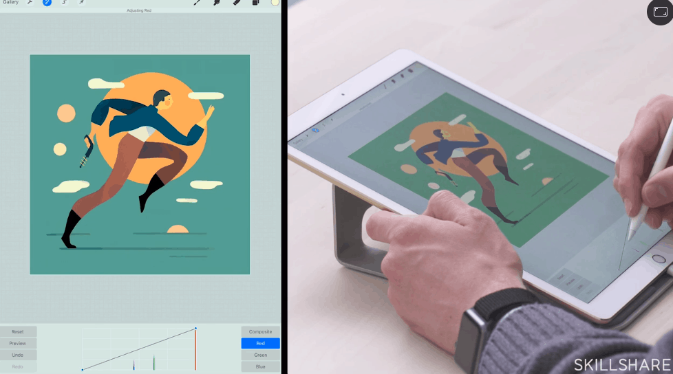 Digital Illustration: Learn to Use Procreate - Best skillshare classes