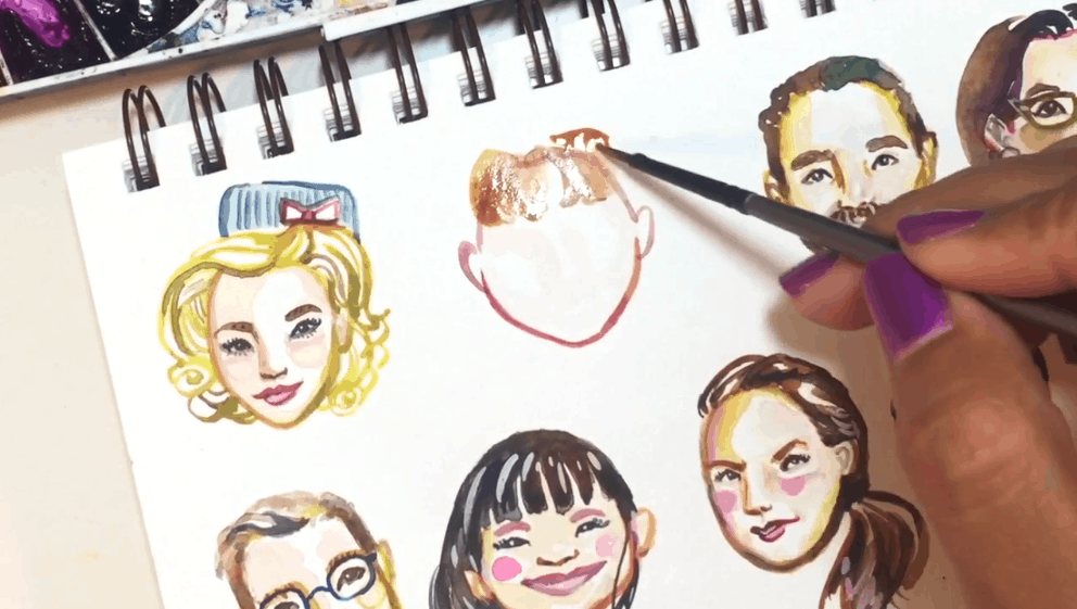 Best skillshare classes - Expressive Little Faces: Proportions, Painting, Personality