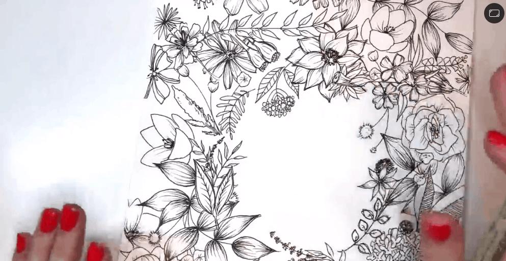 Floral Illustration: Composition Meets Negative Space - Best skillshare classes