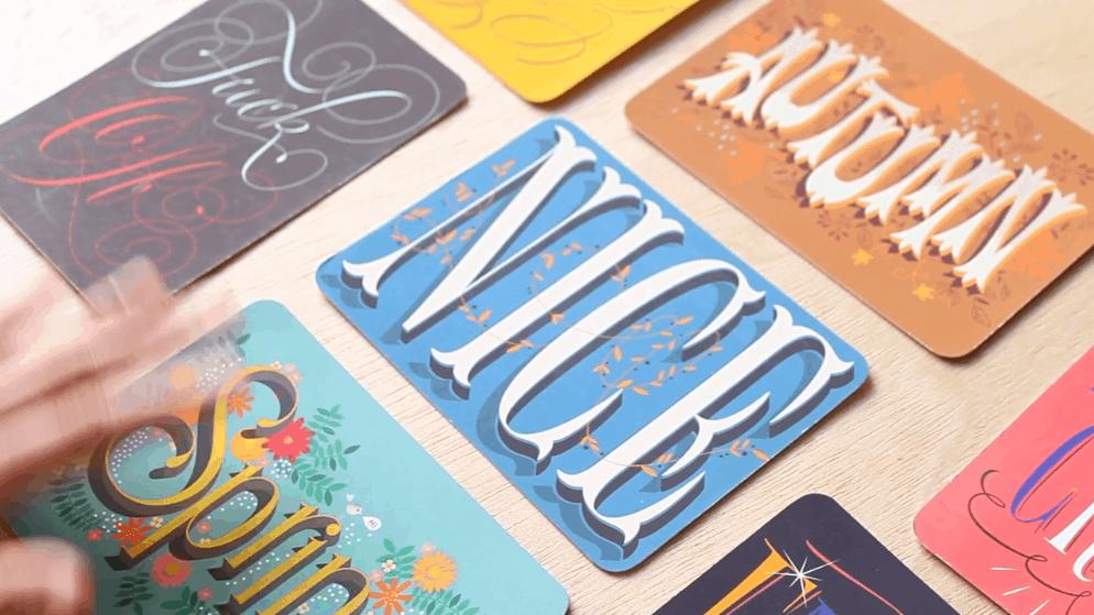 Best skillshare classes - The Golden Secrets of Hand-Lettering: Create the Perfect Postcard