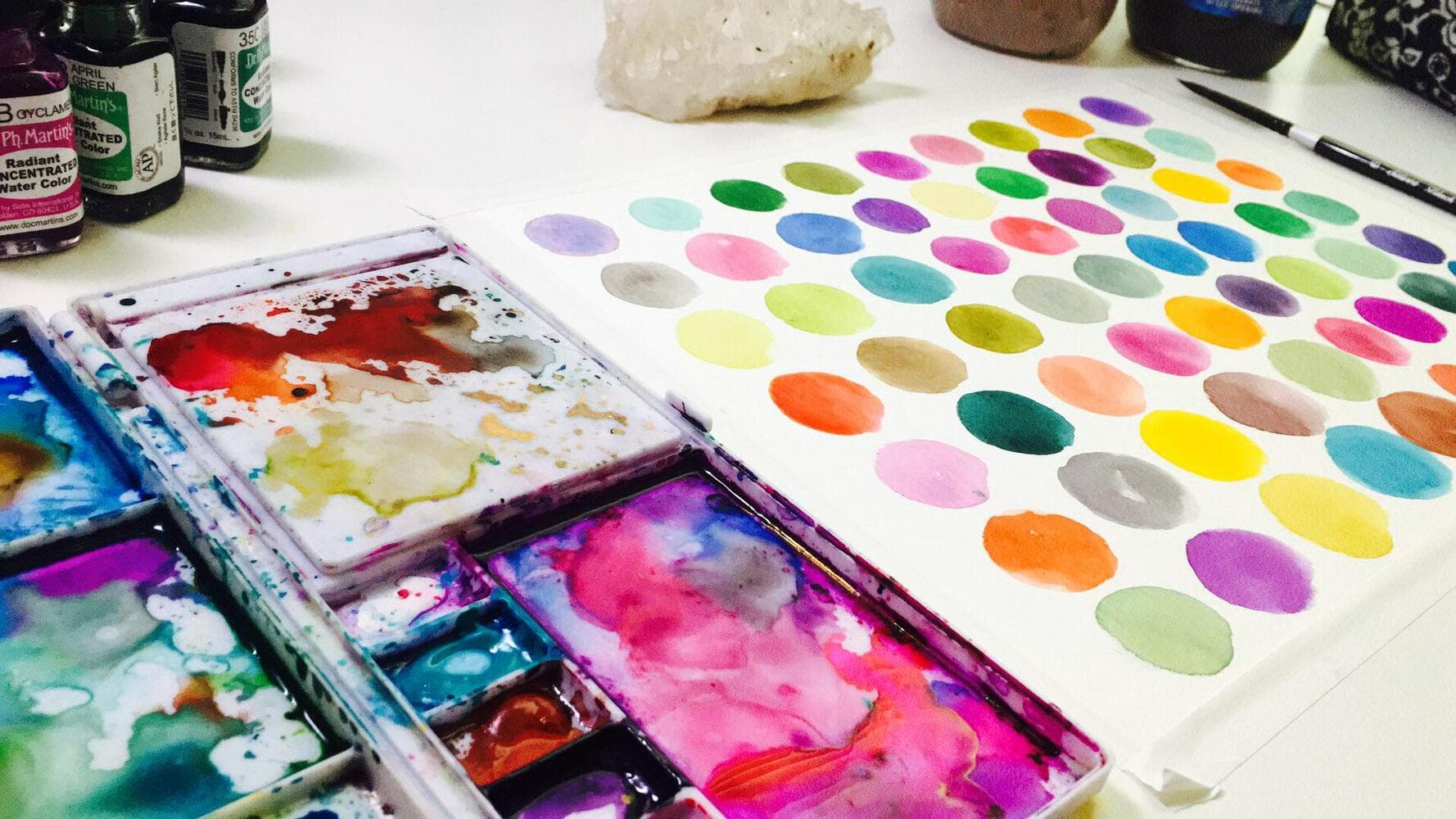 Best skillshare classes - Watercolor Magic: The Basics of Color Mixing and Color Harmony