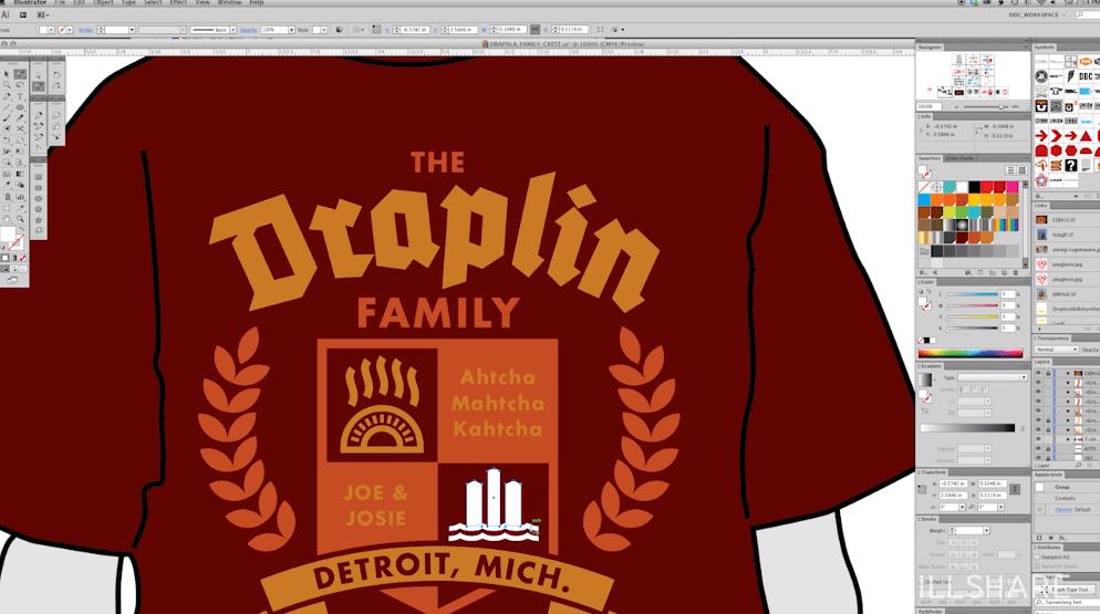Best skillshare classes - Logo Design with Draplin: Secrets of Shape, Type and Color