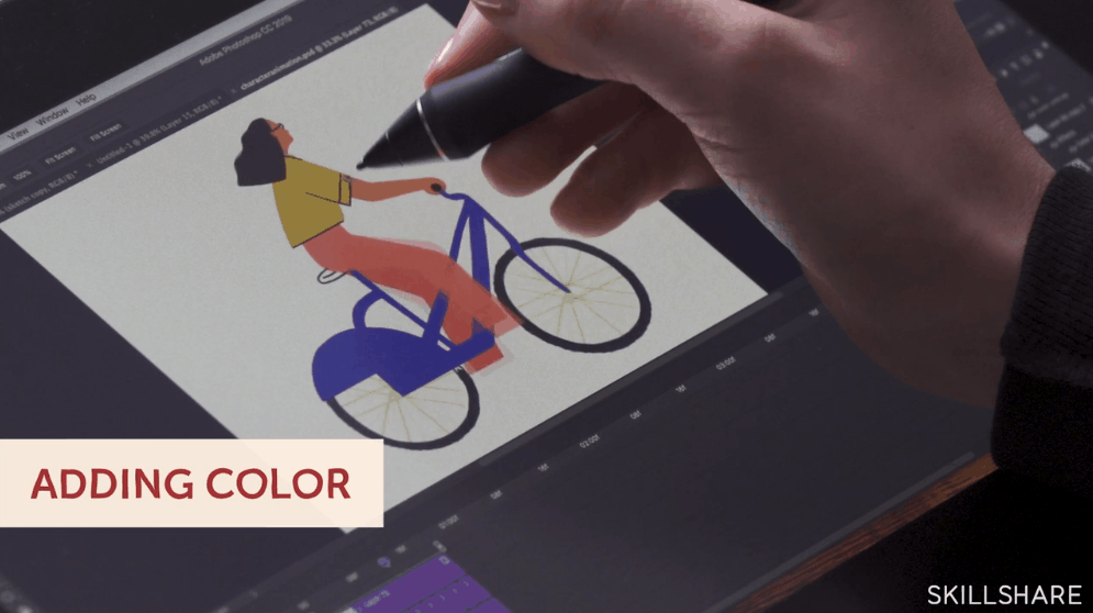 Best skillshare classes - Animation for Illustration: Creating Layered GIFs with Photoshop & After Effects