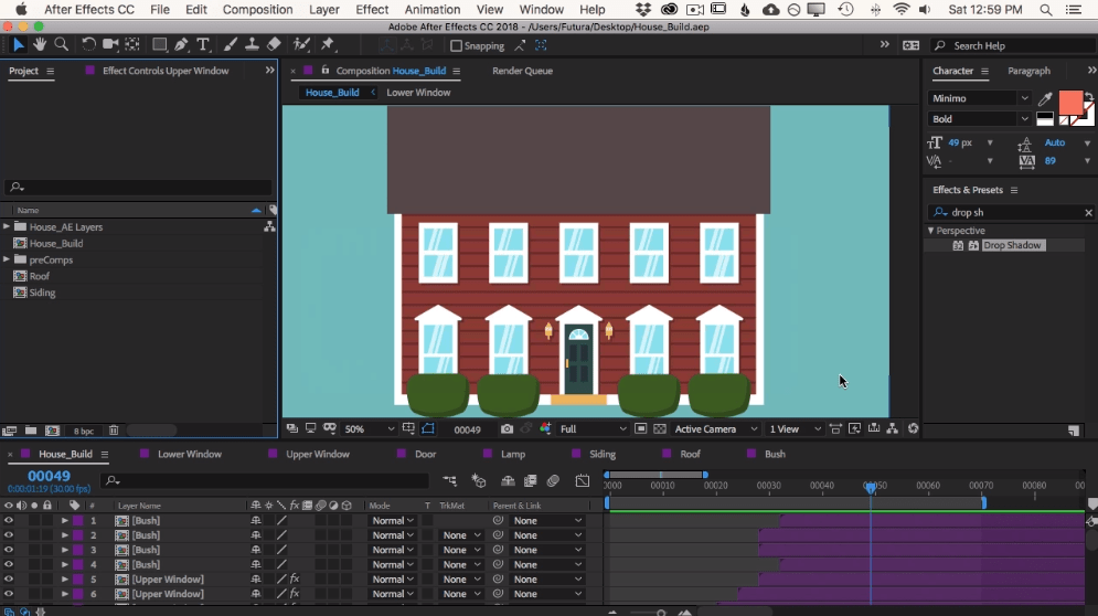 Best skillshare classes - Animating With Ease in After Effects