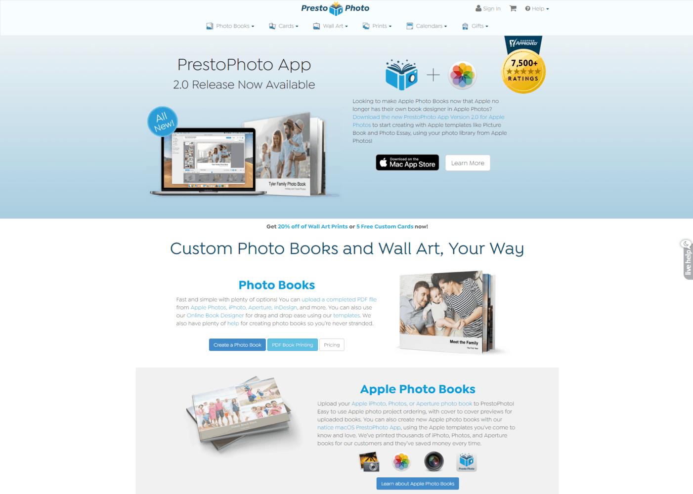 Portfolio imprimé en ligne - - Presto Shop