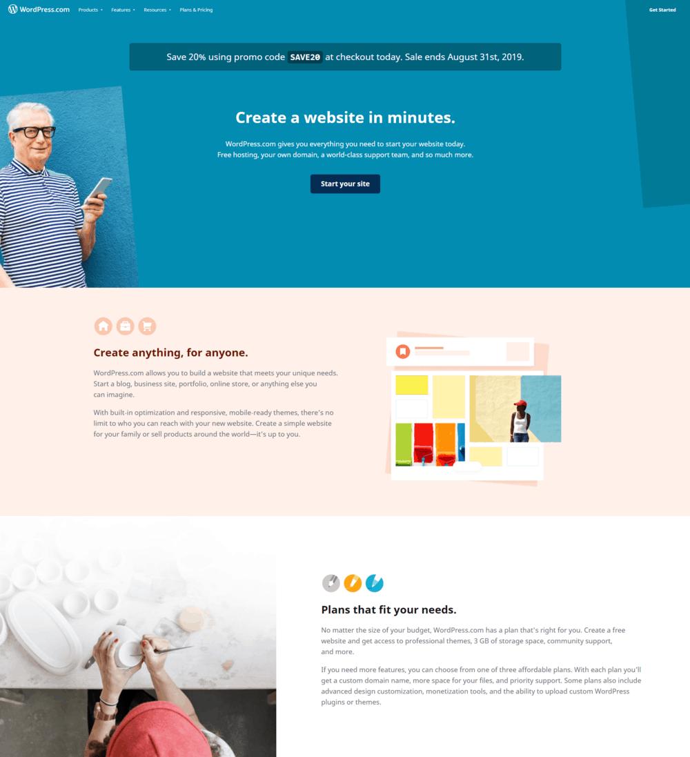 Portfolio en ligne - WordPress