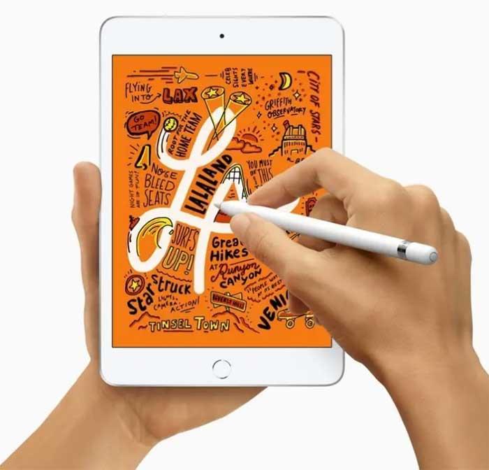 Apple iPad mini - meilleure tablette pour prendre des notes et dessiner