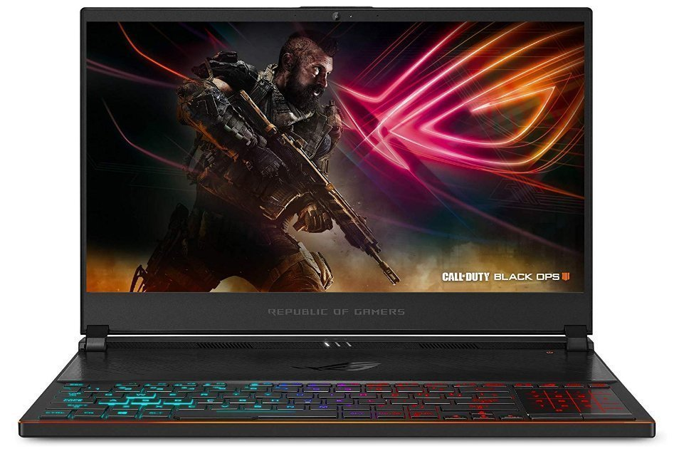 ASUS ROG Zephyrus S Ultra Slim - graphic design tools