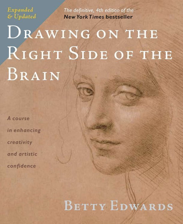 Drawing on the Right Side of the Brain by Betty Edwards - How to draw book