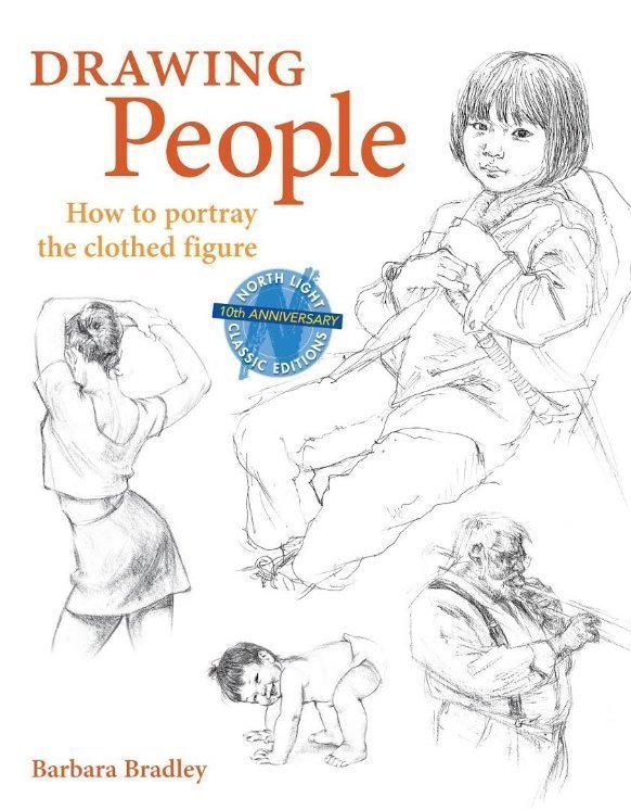 Drawing People by Barbara Bradley - How to draw book