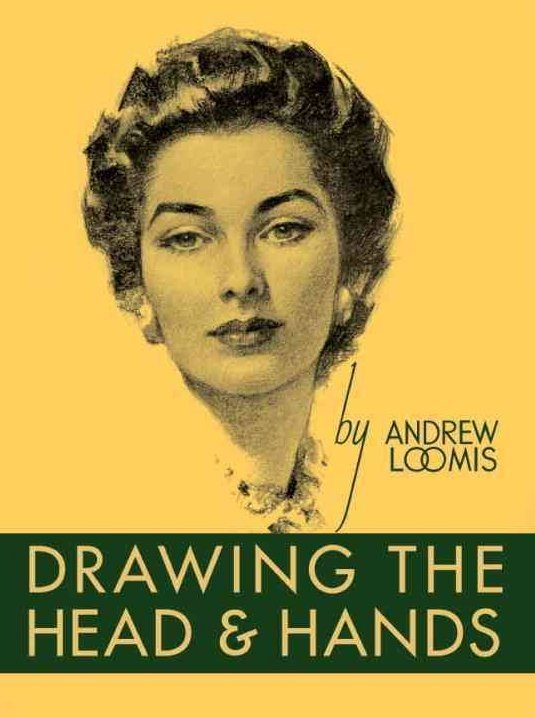 Drawing the Head and Hands by Andrew Loomis - How to draw book