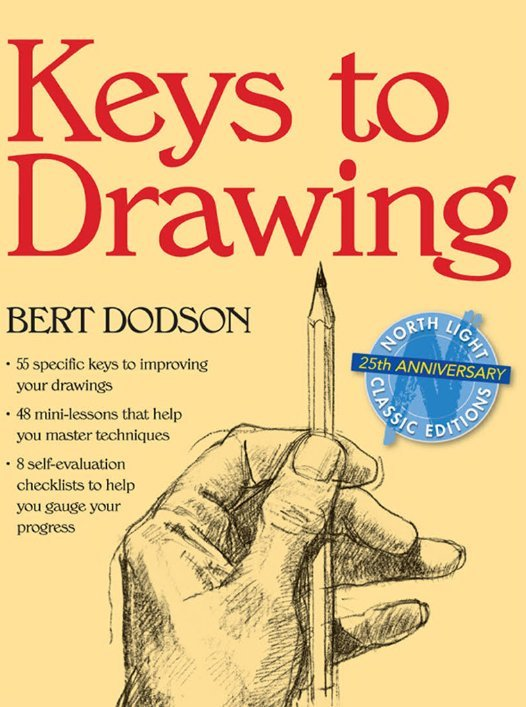 Keys to Drawing - How to draw book