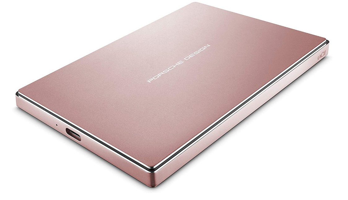 LaCie Porsche Design External Hard Drive - tools for graphic designer