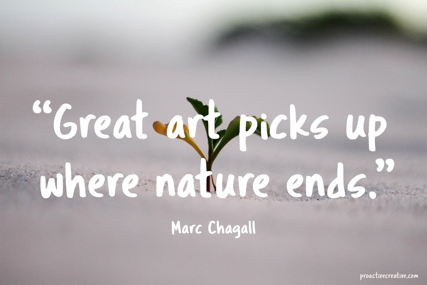Art quotes - Marc Chagall
