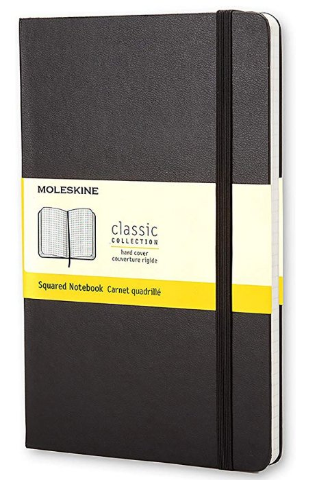 Moleskine Ruled Cahier notebook - graphic design equipment