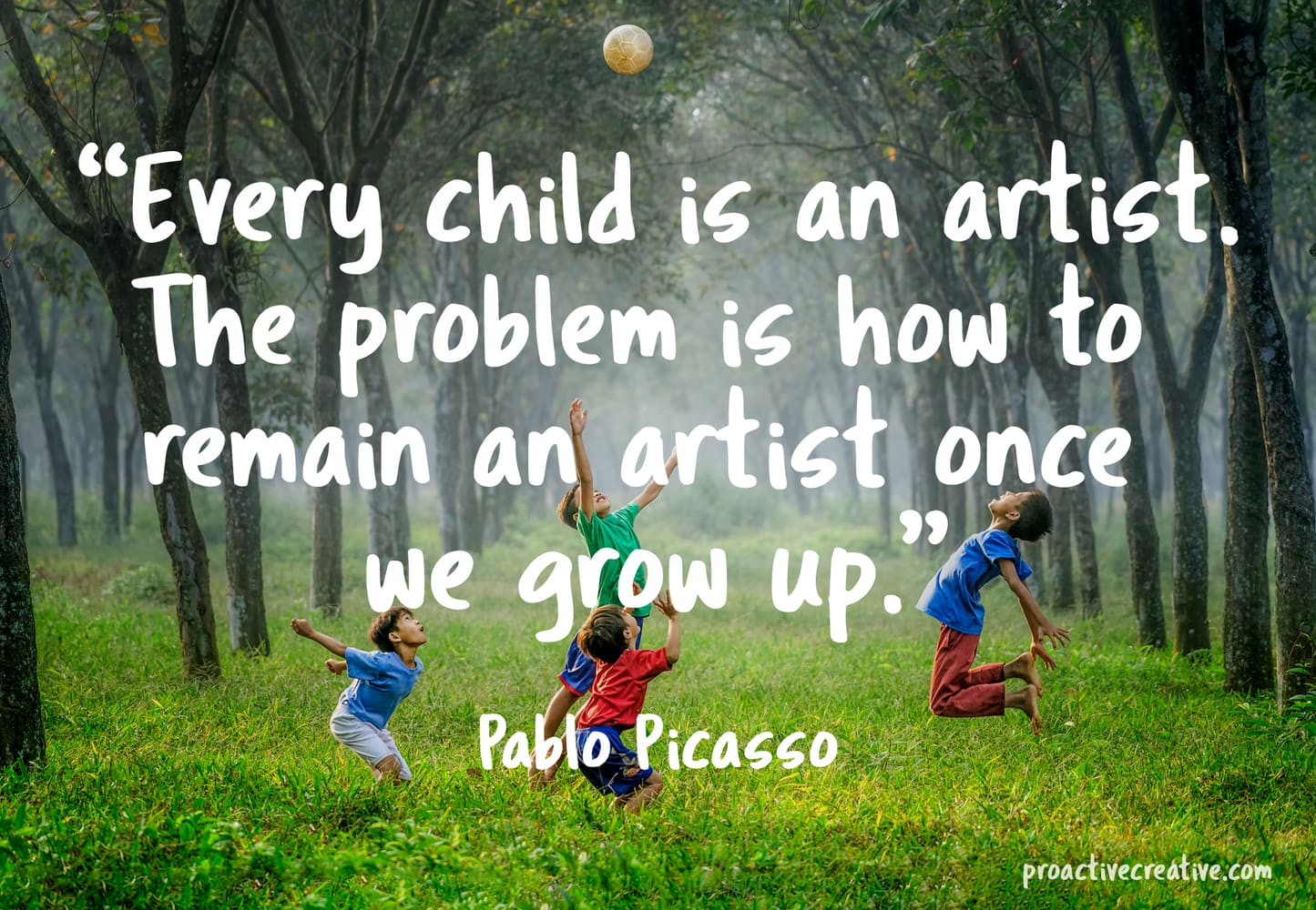 Art quotes - Pablo Picasso