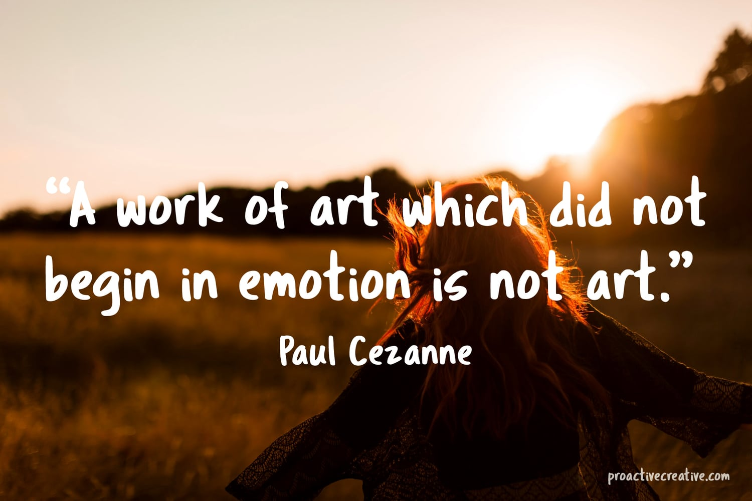 Art quotes - Paul Cezanne