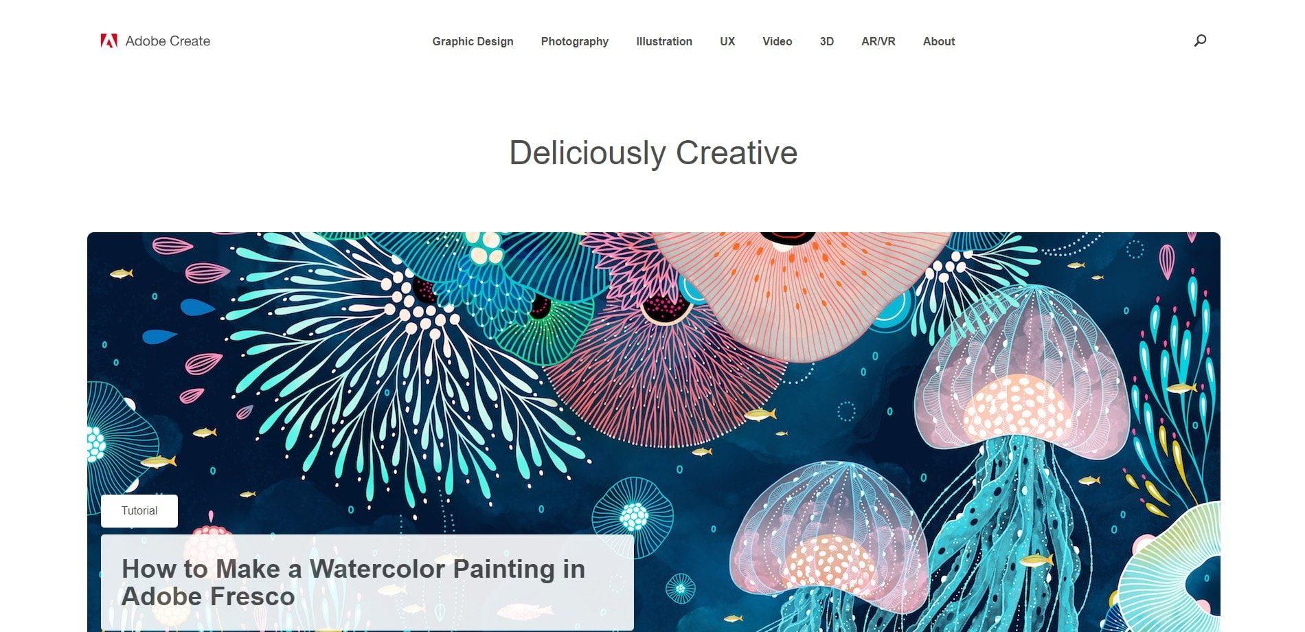 Adobe Create Magazine - Design blog