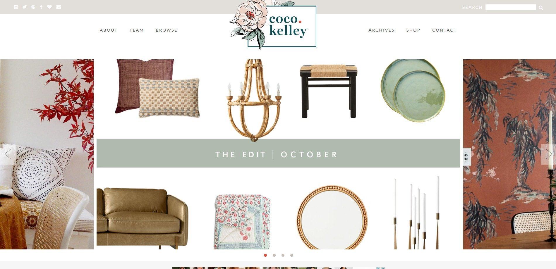 Coco Kelley- Design blog