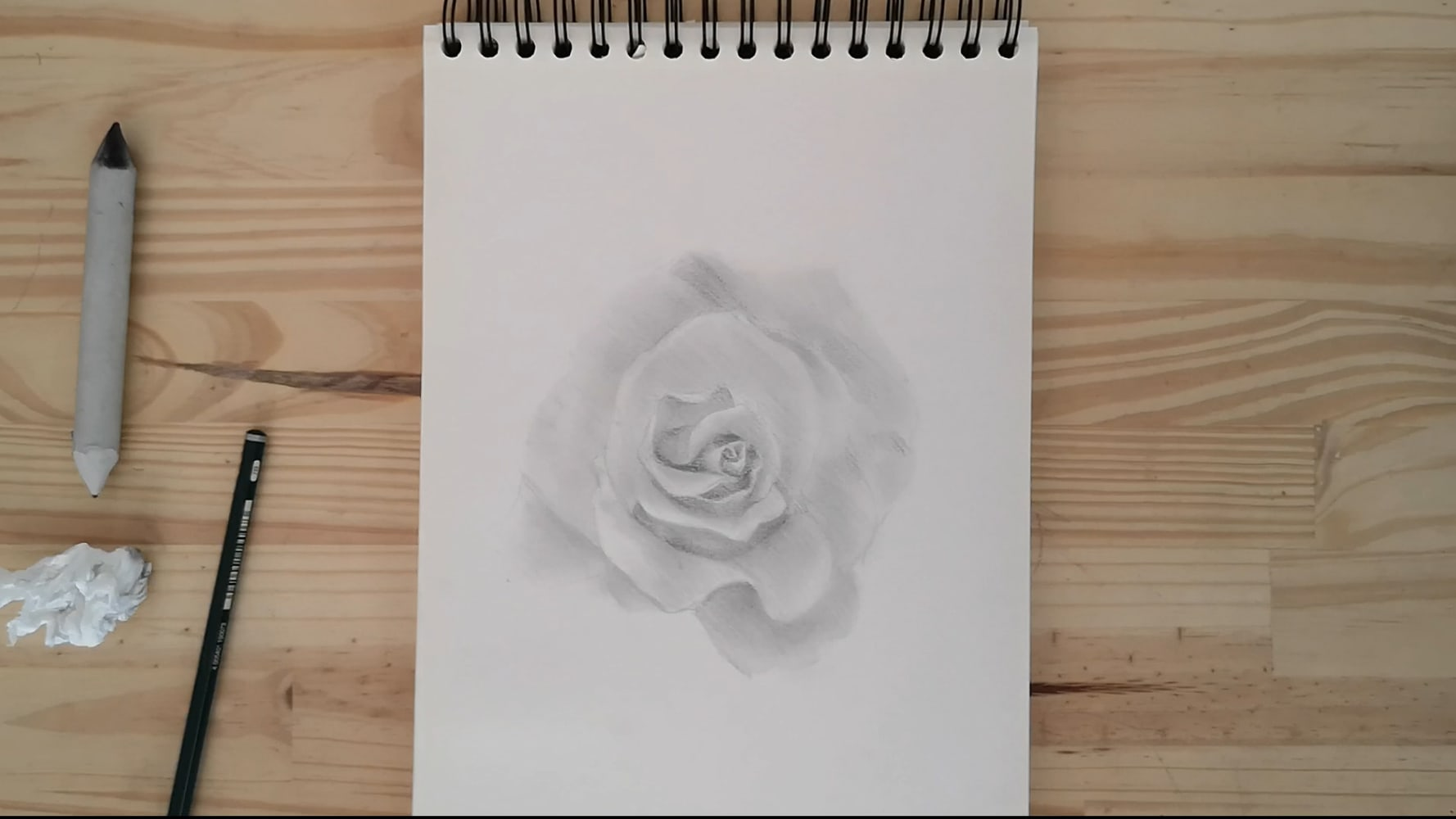 How to draw a rose easy step by step tutorial