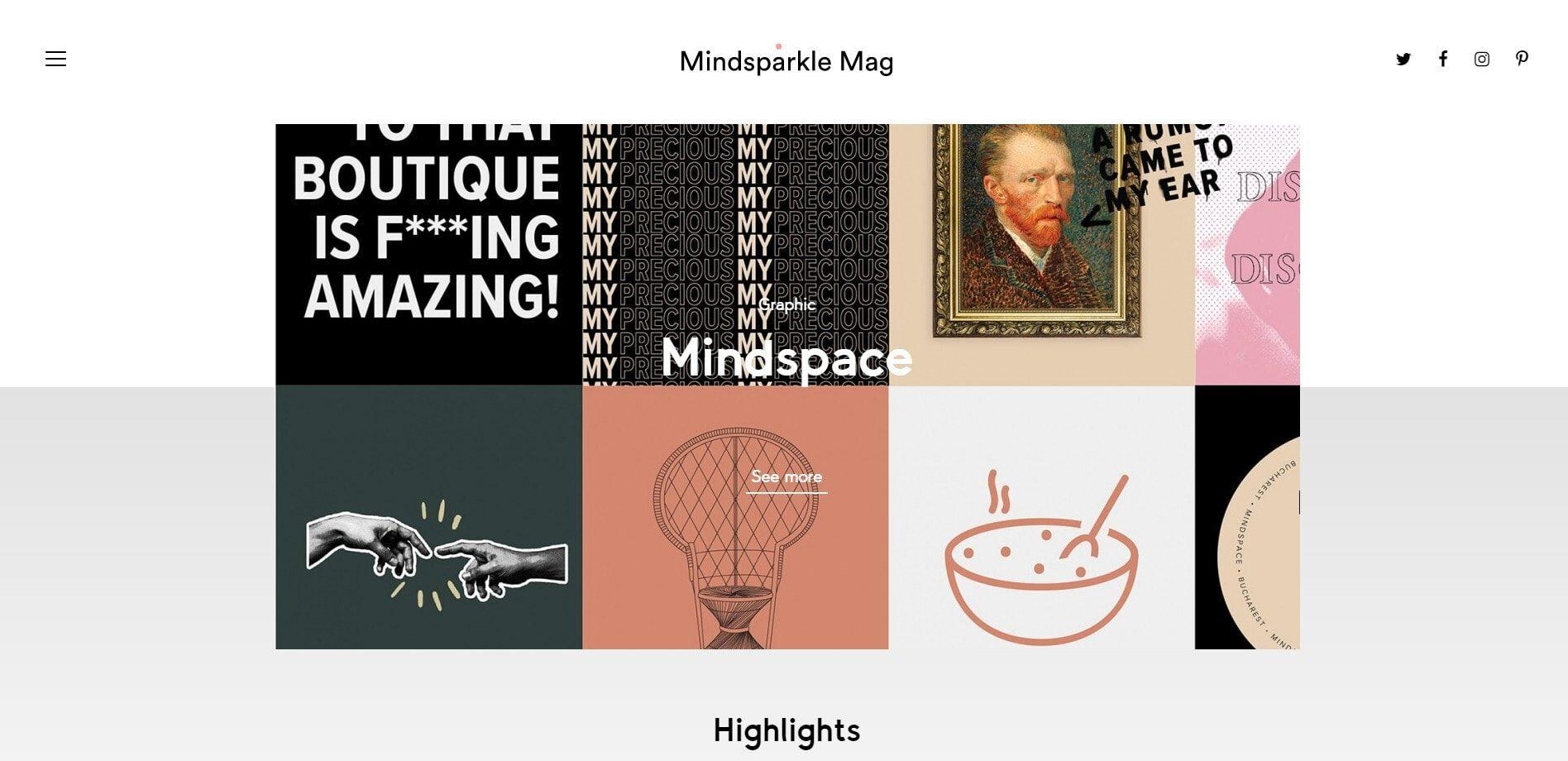 Mindsparkle Mag - Design blog