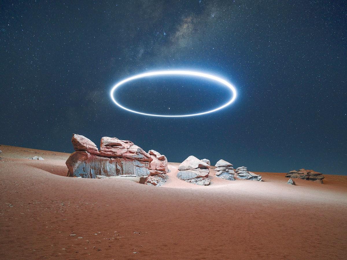 Long exposure landscape drone photographys - Reuben Wu