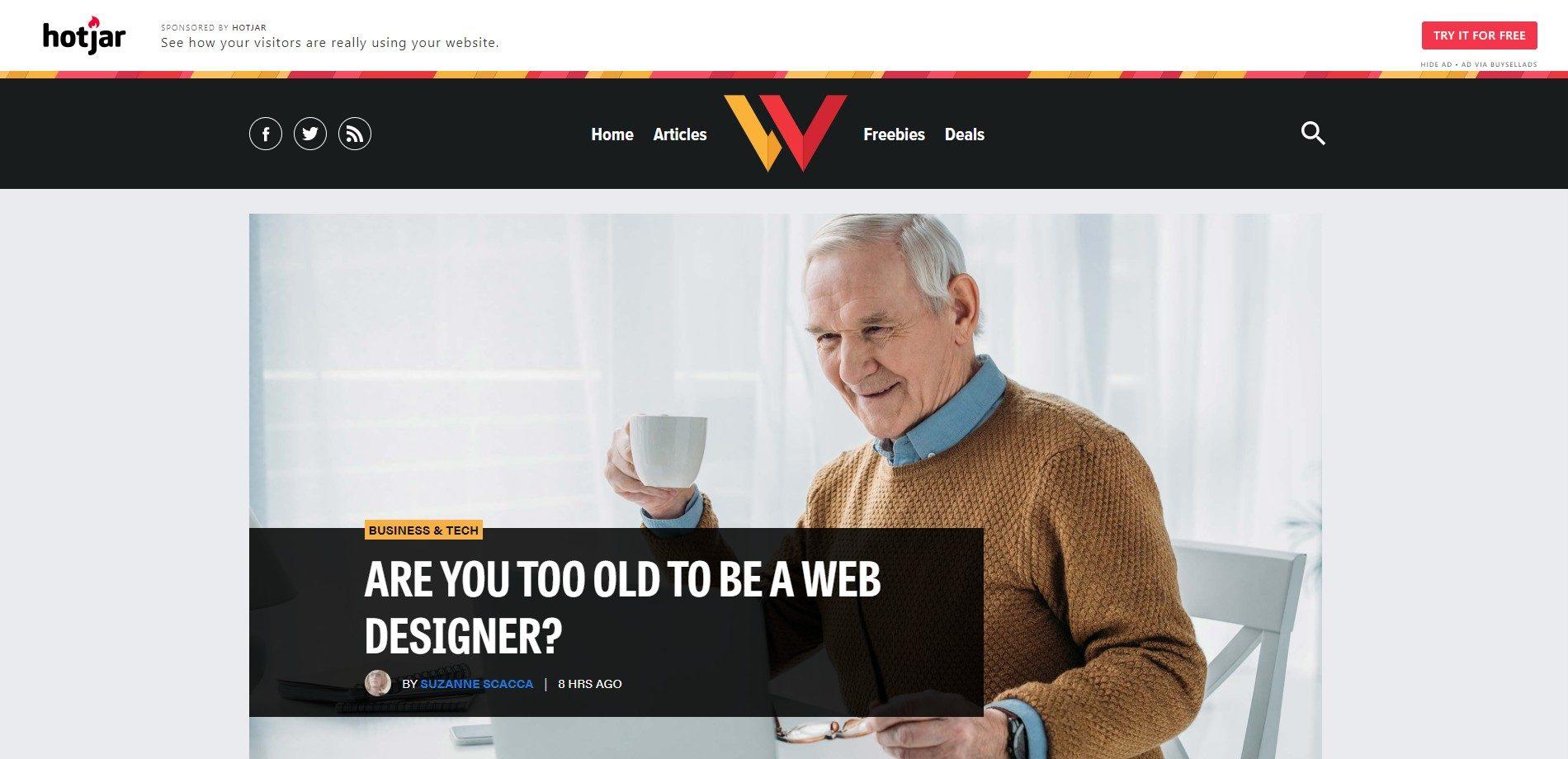 Web Designer Depot- Web design blog