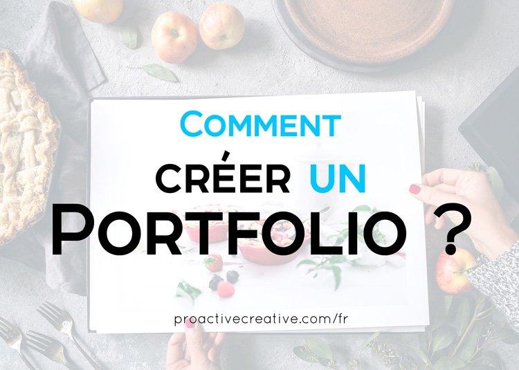 Comment créer un portfolio ?