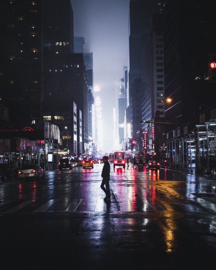 Streets of New York - Street Night Photography