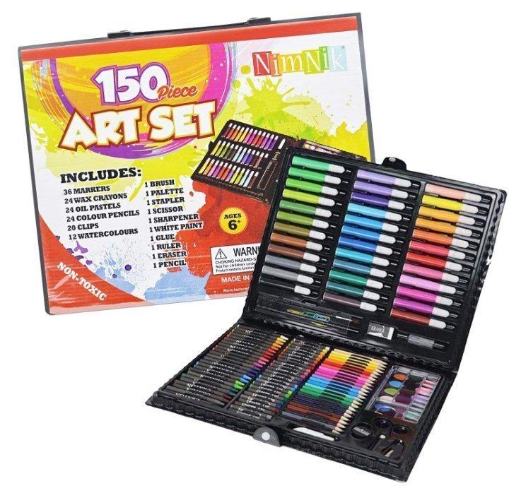 150 Piece Creativity Art Set for Kids