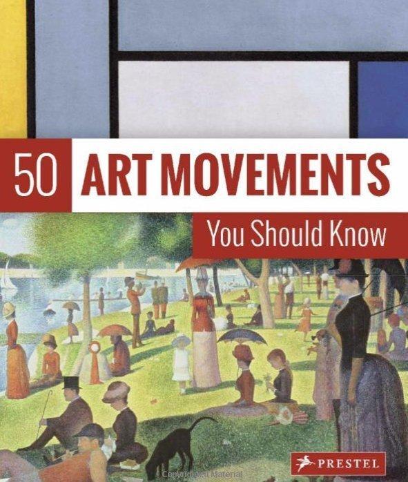50 mouvements artistiques à connaître - idée cadeau d'artiste