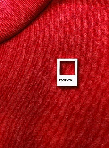 Broche en émail Designer Pantone - Idée cadeau pour graphiste