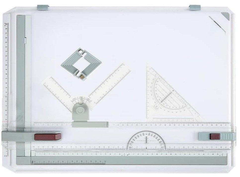 Drawing Board and Drawing Tools Set