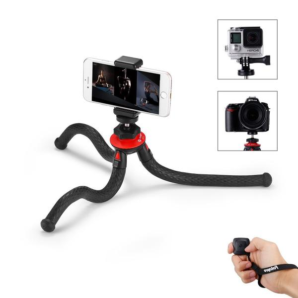"Fotopro 12"" Flexible Tripod with Bluetooth - smartphone - iphone tripod"