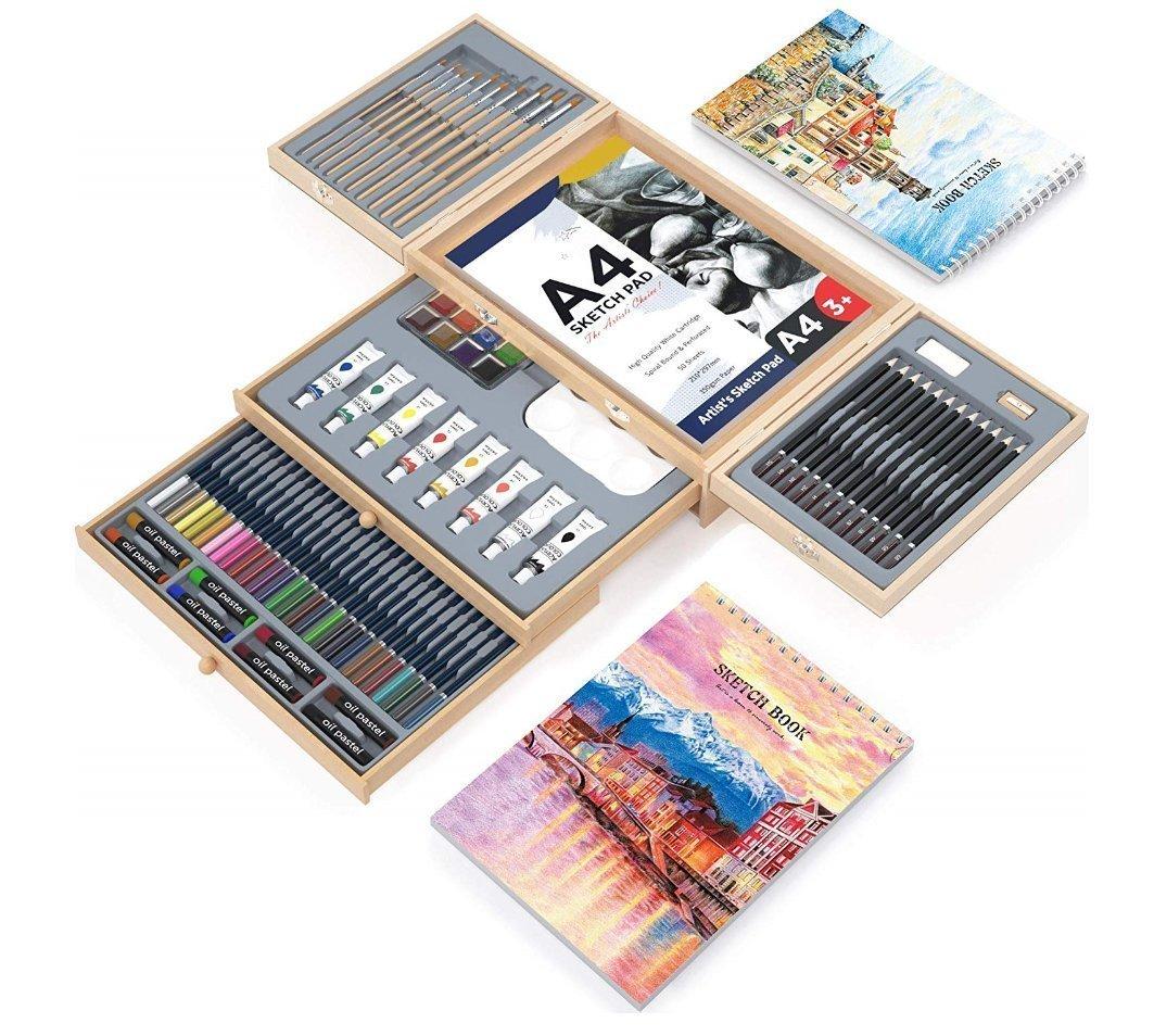 Professional Art 85-Piece Set - Art tool