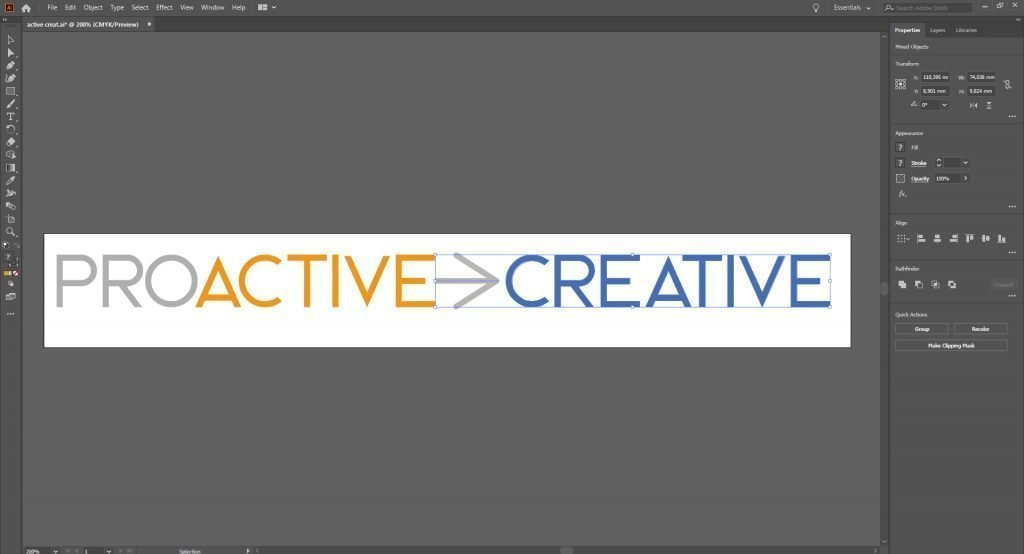 Adobe illustrator - Proactive Creative