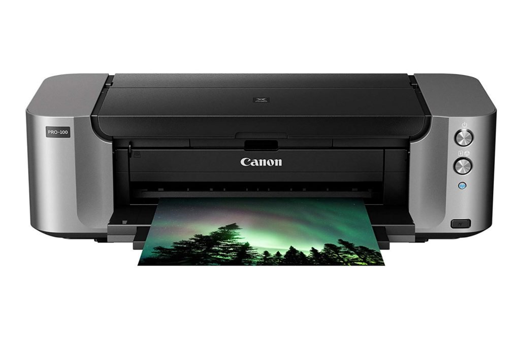 Canon Pixma Pro-100 Wireless Inkjet Printer - Best printers for art print