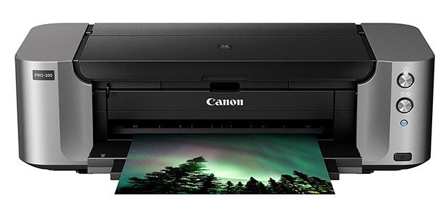 Canon Pixma Pro-100 Wireless Inkjet Printer - Best printers for art print