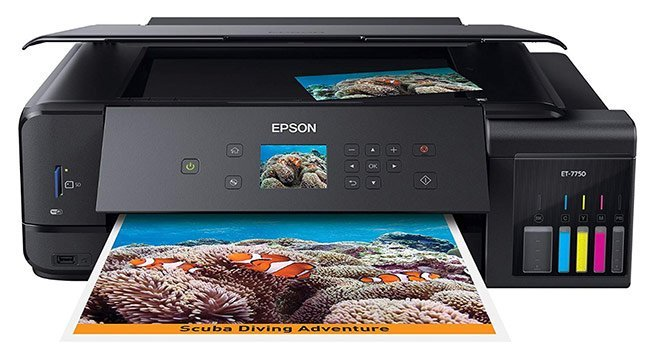 Epson Expression Premium ET-7750 Printer - Best printer for artists