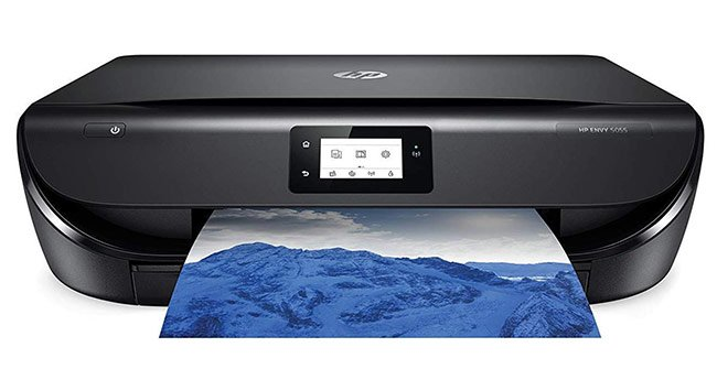 HP ENVY 5055 Wireless All-in-One Photo Printer, HP Instant Ink - best printer for art print