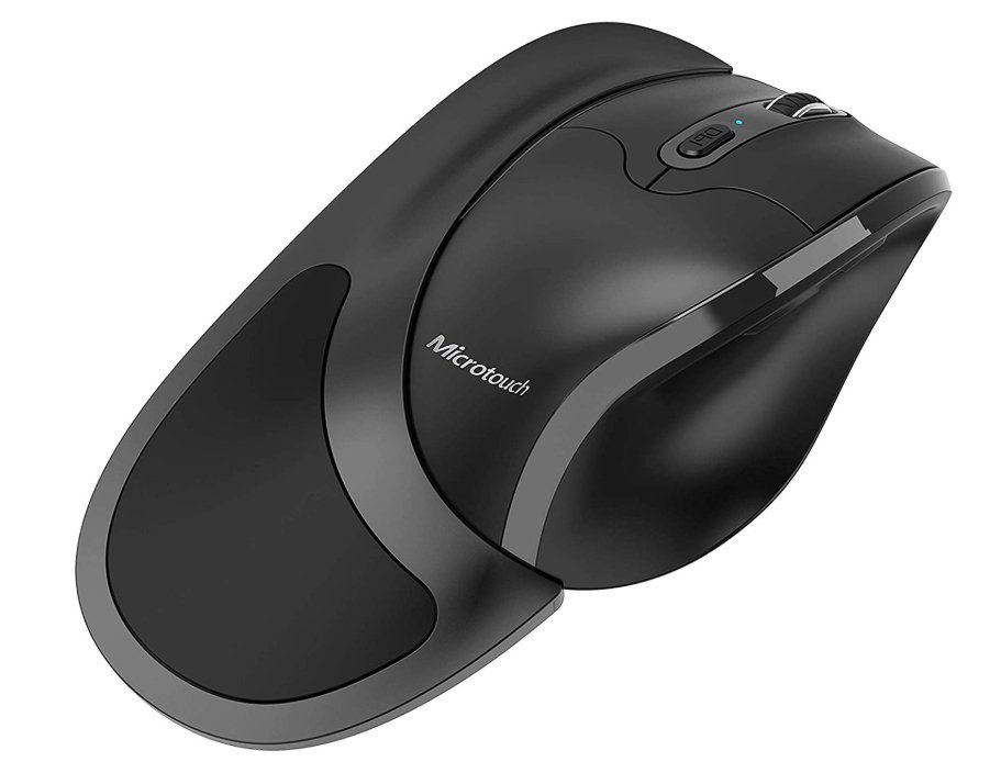 Newtral Wireless Left Handed Semi-Vertical Ergonomic Mouse