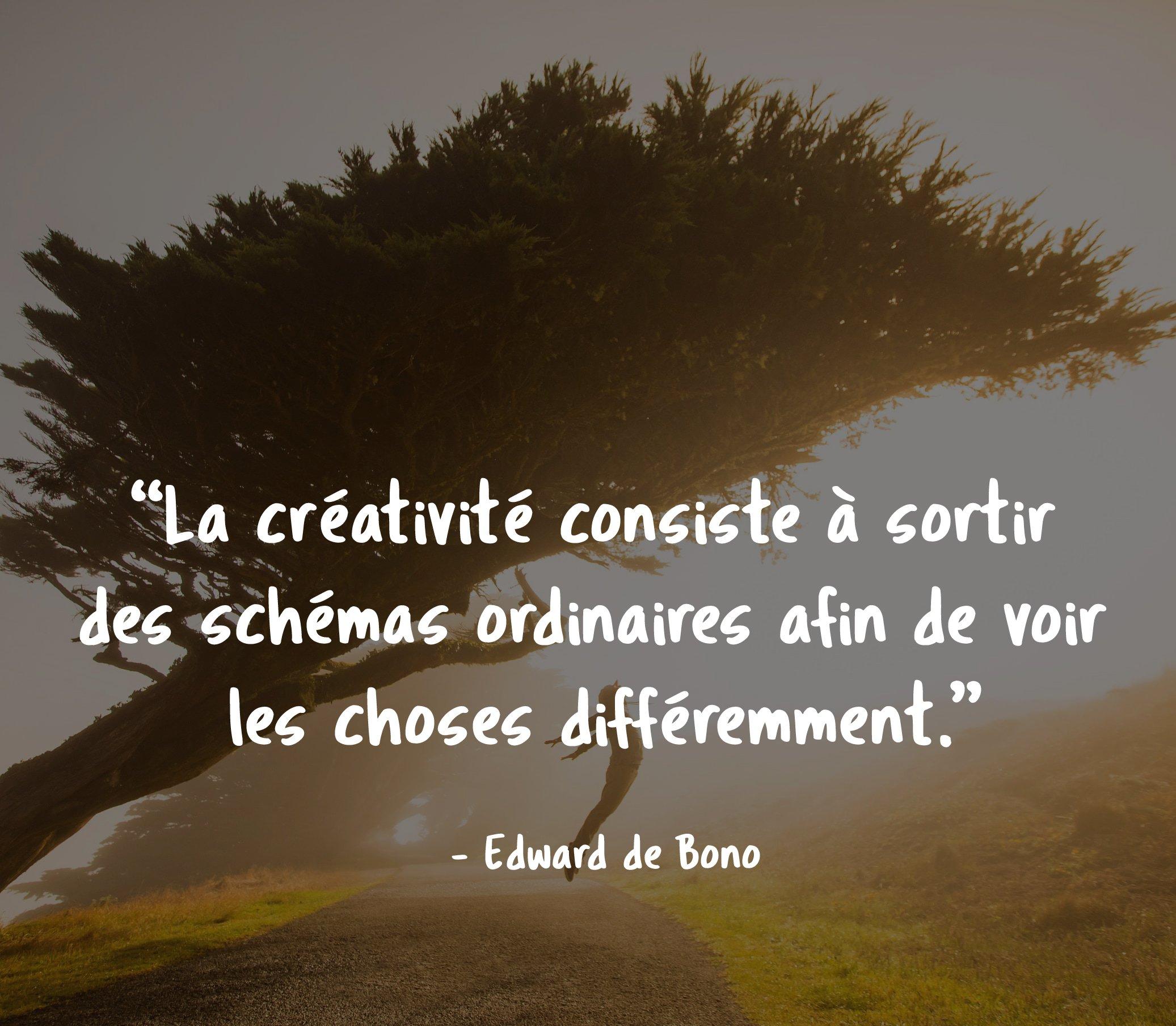 Edward de Bono - Citations inspirantes