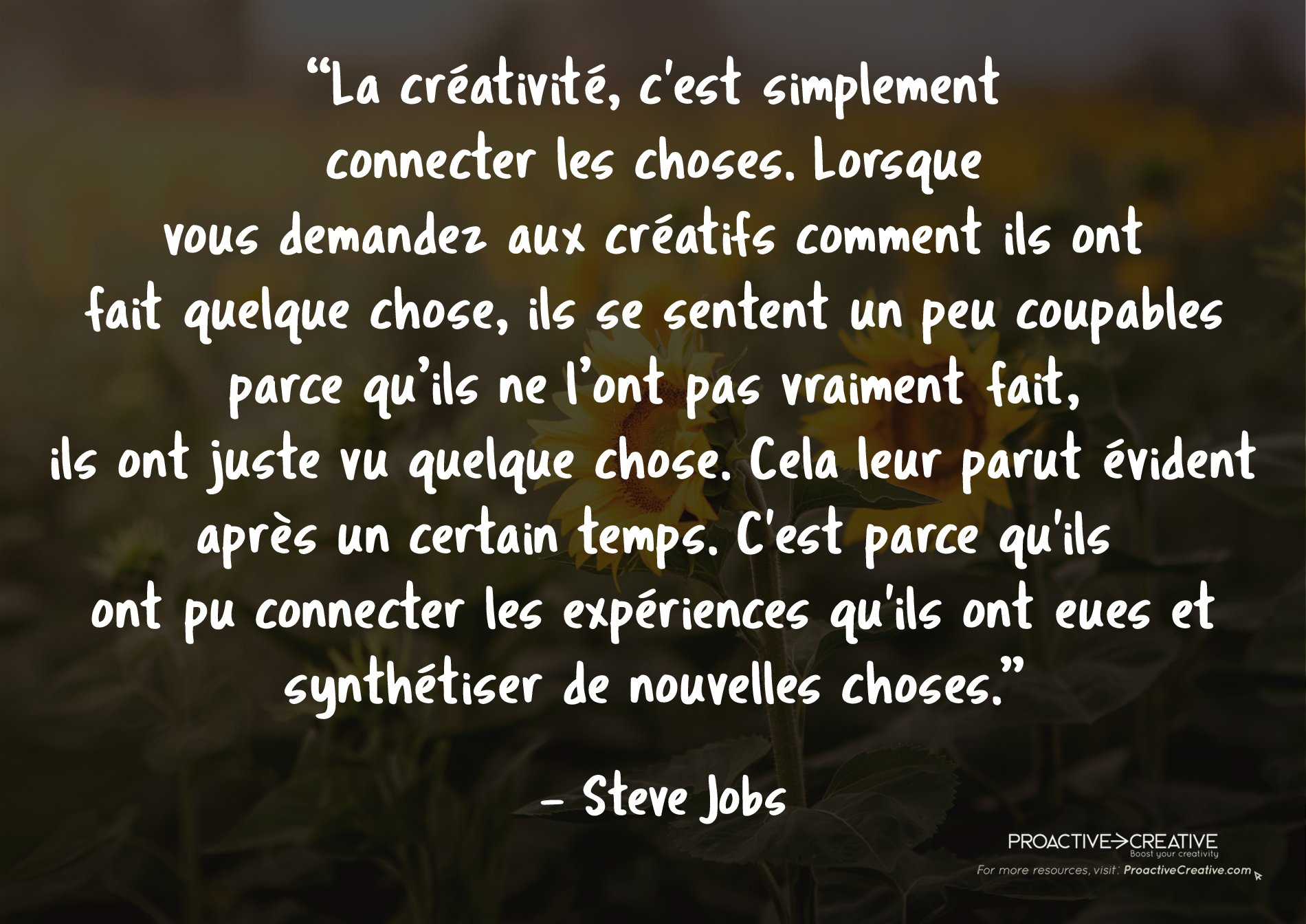 Citations motivantes - Steve Jobs
