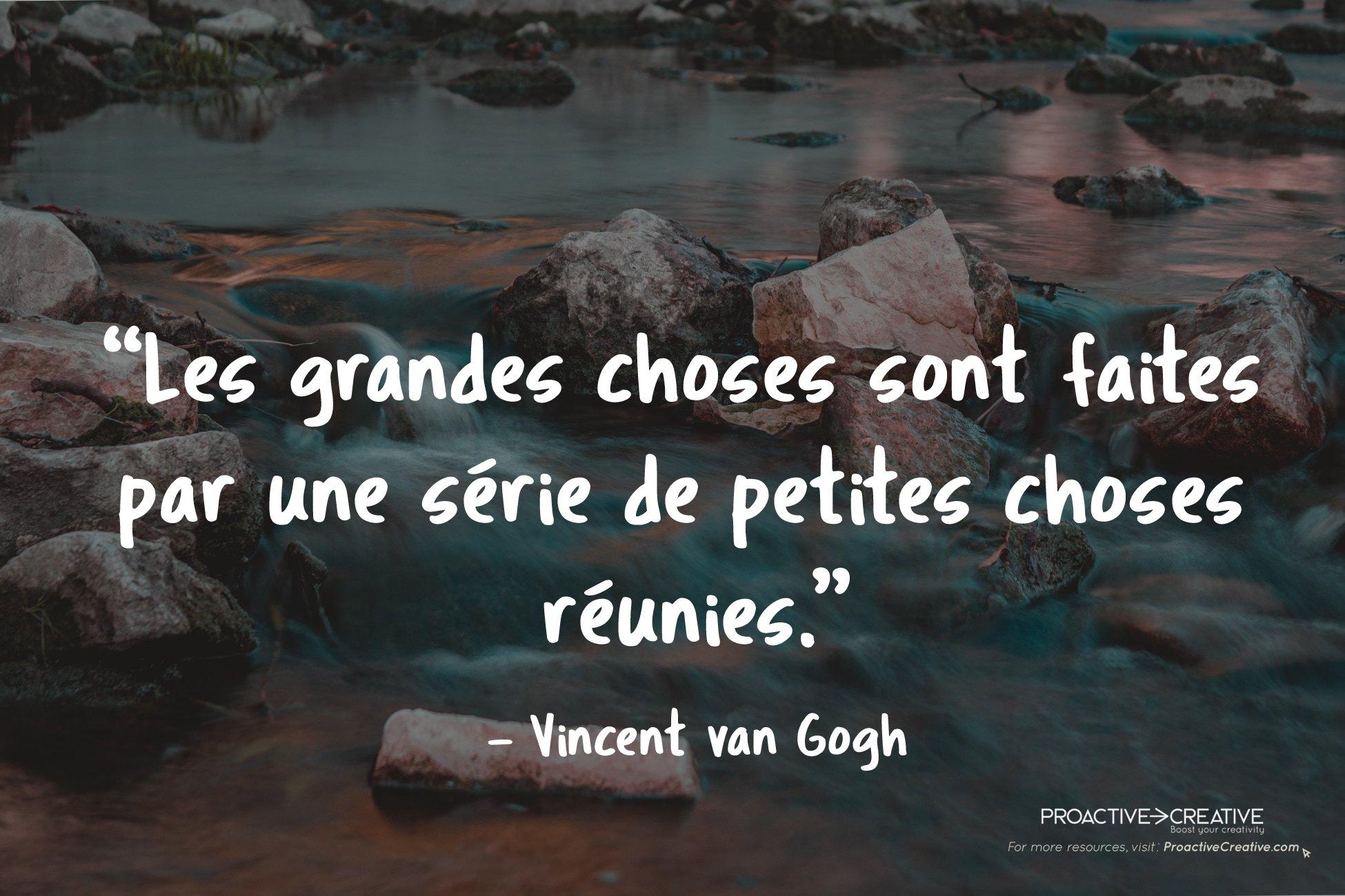 Vincent Van Gogh - Citations inspirantes