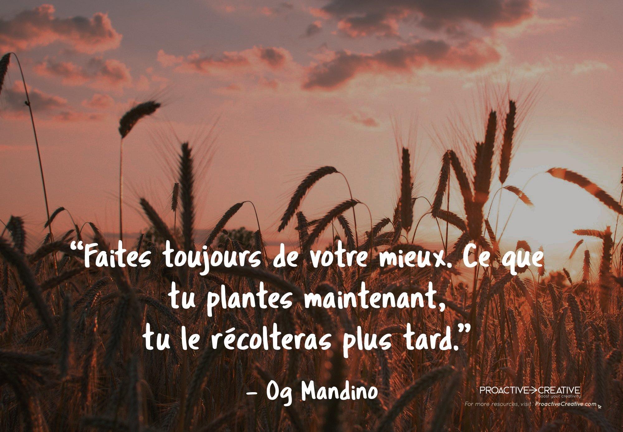 Og Mandino - Citations inspirantes