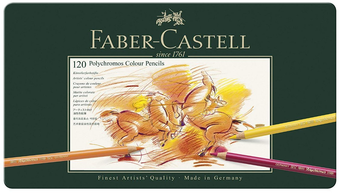 Best colored pencils - Faber Castell