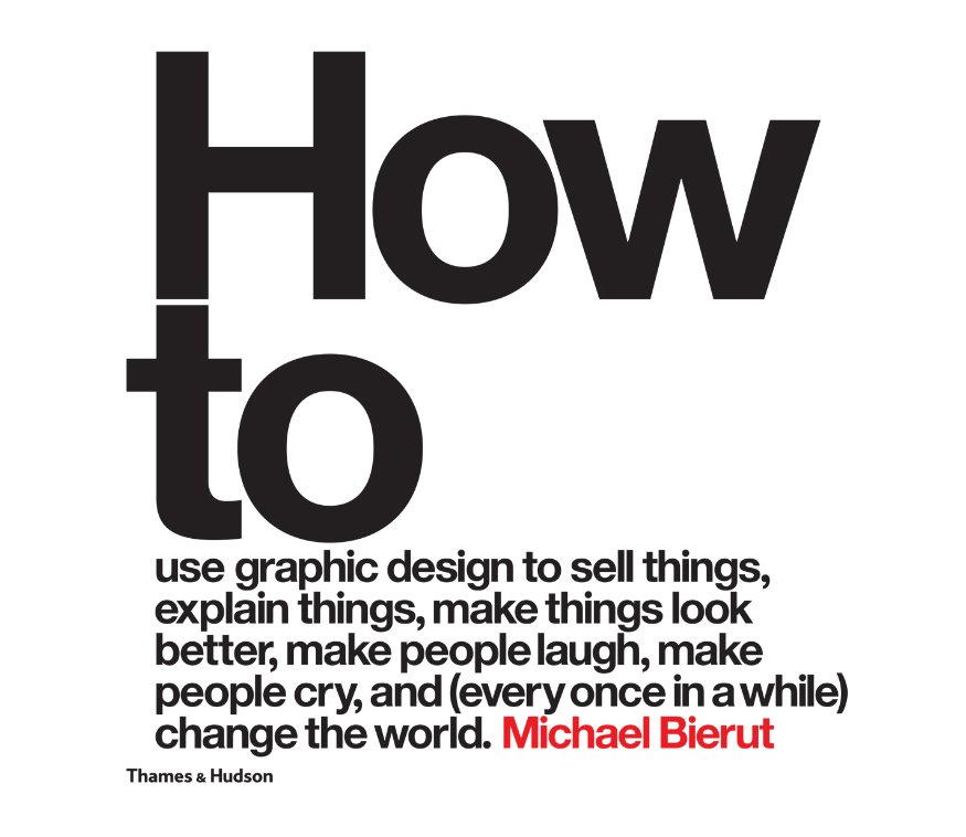 How to… by Michael Bierut