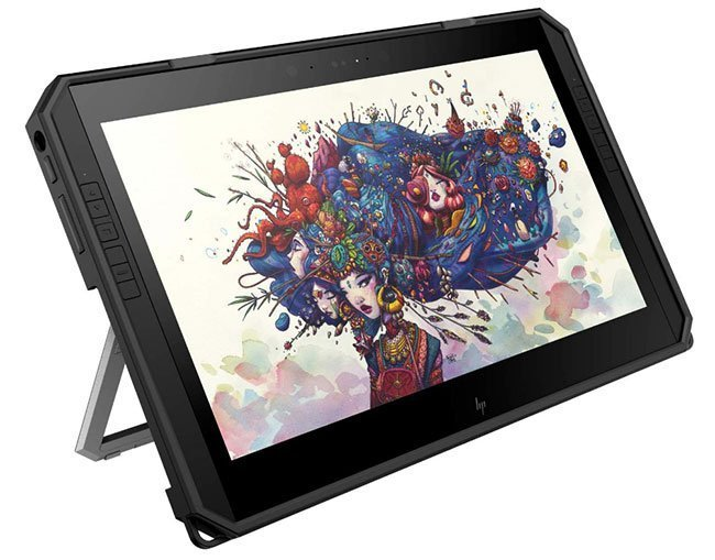 HP Zbook X2-G4 Laptop - Standalone drawing tablet