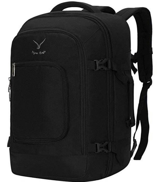 Hynes Eagle 40L Travel Backpack - Minimalist Backpack